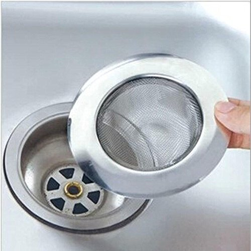 filtro de acero inoxidable para fregadero